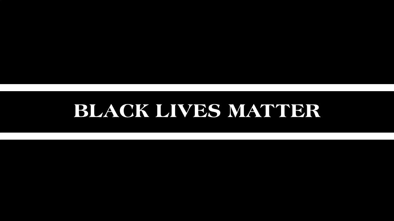Black Lives Matter wording